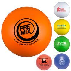 Round Squeeze Balls - Round squeeze balls.