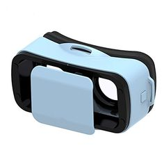 Mini VR 3d glasses LEJI VR Virtual Reality Headset 3D Game Movie for 45  55 Smart Phone Compatible with Android  Apple Easy Setup * Read more  at the image link.Note:It is affiliate link to Amazon.
