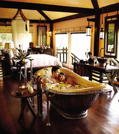 Four Seasons - Golden Triangle Thailand - might be a good place for the honeymoon