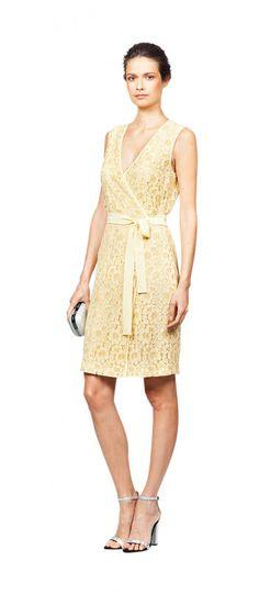 Yellow lace dress | Sahara Style Look 034