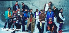 The Rampage from Exile Tribe - Article written by Rolling Stone in Japan Rolling Stones, Exile, Kiss, Boyfriend, Celebrity, Japanese, Japanese Language, The Rolling Stones, Celebs