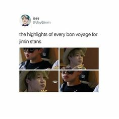 More like for every ARMY I know we all hate to see him starve himself