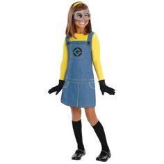 Girls Minion Costume - Despicable Me 2