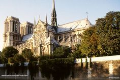 Notre Dam, just beautiful. Throngs of people lined up to get in.