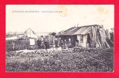 WWI E-Belgique-449A70  ZONNEBEKE BROODSEINDE, Yoorloopige Woningen, Les Habitations Provisoires, Animation, Cpa