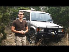 (87) Overland Vehicle Introduction   1987 Isuzu Trooper 4x4 - YouTube