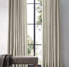 Perennials® Textured Linen Weave Drapery NEUTRAL