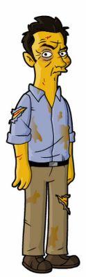 Ben Linus, Simpsonized