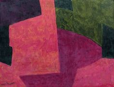 Artwork by Serge Poliakoff, Composition, Made of gouache on paper