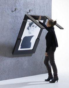 Great idea for a studio apartment #table!  #savingspace #art #apartment