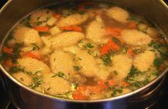 Chicken Soup with Farina Dumplings