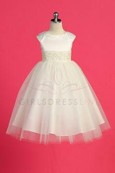 d8cc3f93a92e Flower girl dresses! Ivory Flower Girl Dresses, Tulle Flower Girl,  Embroidered Lace,