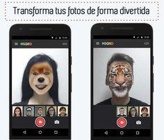 MSQDR. Transforma tus fotos de manera divertida #Apps #fotografía #selfies