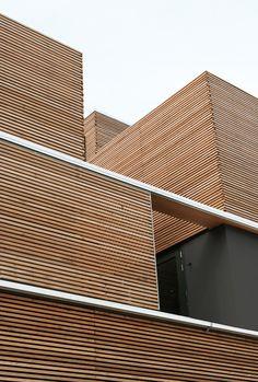 K18V23 - Pasel.Kuenzel #gevel #hout #compositie