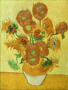 The Sunflowers 2 by Vincent van Gogh,  Categories: Still life painting, Flower Painting, Post Impressionism