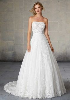 Shop best wedding dresses & bridal gowns from Morilee, have a wide variety of traditionally elegant gown and classic stunning wedding dresses for bridal in the UK. Mori Lee Wedding Dress, Wedding Gown Sizes, Bridal Wedding Dresses, Wedding Dress Styles, Bridesmaid Dresses, Prom Dresses, Lace Wedding, Amazing Wedding Dress, Classic Wedding Dress