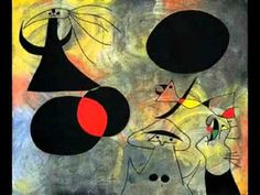 This video show a variety of art pieces created by Joan Miró through his life, such as sculptors, paintings, murals, and ceramics