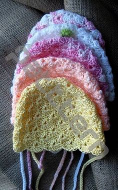 PDF crochet pattern beanie for baby by PatternHome on Etsy