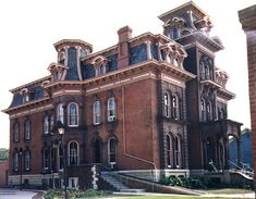 Second Empire Mansion Photos Victorian Architecture, Landscape Architecture, Second Empire, Gothic House, Victorian Homes, House Plans, Castle, Exterior, Mansions
