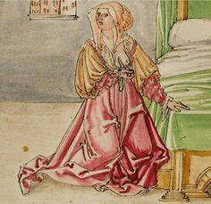Lucretia verübt Selbstmord, um ihre Ehre gegenüber König Sextus, der sie zum Ehebruch zwingen will, zu verteidigen.