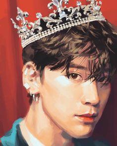 Kpop Drawings, Cute Drawings, Chen, Nct Ten, Fan Art, Cute Cartoon Wallpapers, K Idol, Kpop Fanart, Pictures To Draw