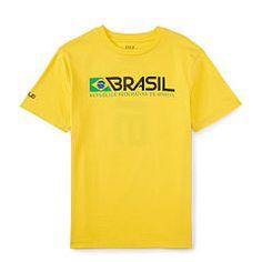 Brasil Cotton Jersey Tee - Boys 6 - 14 years T-Shirts - Ralph Lauren UK