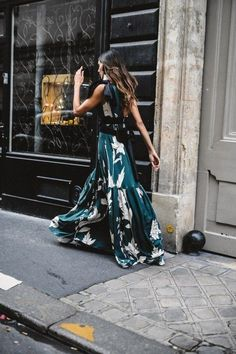 Dreamy spring dress ##streetstyle