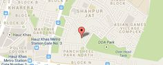 Map of the business location  #PavitraJyotish  @PavitraJyotish #Astrology #Horoscope