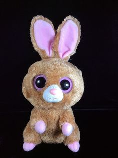 "Ty Beanie Boos Hopson 2012 Plush Soft Toy Bunny Rabbit Stuffed 12"" #Ty"