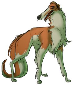Sighthound Sitadel — themarquisofdorks:   A doodle request from...