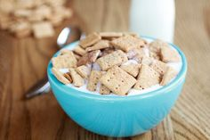 Homemade Cinnamon Toast Crunch -- nostalgia alert, and such a cute gift idea.