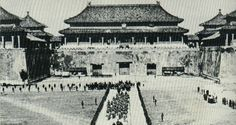 Foreign Troops entering into the Forbidden City, 1901.