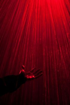 Red Shower Lighting. Love it. Set off by the black background the light is highlighting every drop from the shower's rain head. Photo Title: Red Rain Photo By: Michavila, Ximo