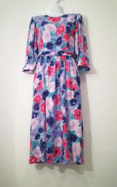 Vintage Dress Size 8  Lanz Originals Made by Optimists4Creativity