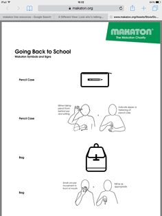 Print off this activity to see the Makaton symbols and ...