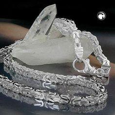 NEU 5 mm Königskette Collier Halskette echt Silber 925er 55 cm Damen Herren 71g