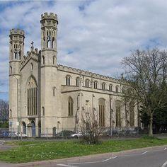 Holy Trinity Church, Lawrence Hill: a Waterloo Church by Thomas Rickman.