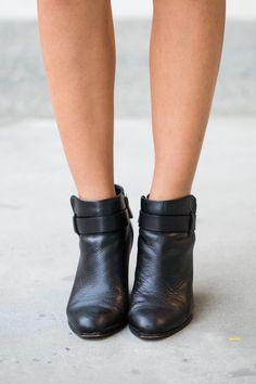 black booties http://the-unprecedented.ca/leatherfallfashion/