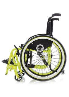 Manual wheelchair / active / folding / pediatric - EXELLE JUNIOR ...