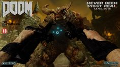 Montaje Vídeo Juego Doom, Photoshop.