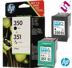 PACK TINTA NEGRA TRICOLOR HP 350 DESKJET D4200 SERIES CARTUCHO ORIGINAL SD412EE