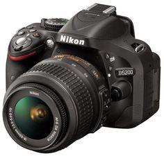 TECHWORLD89: Nikon D5200 DSLR Camera Specifications & Price