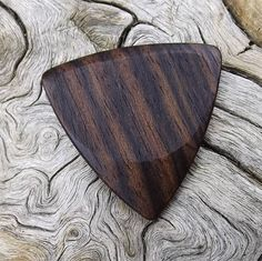 Wooden Tri-Tip Guitar Pick Premium Quality Handmade From