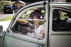 When the bride arrives at her wedding in a vintage 2CV named Dolly, you know it's going to be a good one!! #Reposting @festivalbrides SHARON 💘 NEIL | their true festival wedding looks like an absolute ball over on the blog today! 🎪✨ . . Check it out via the direct link in our profile 👆🏼 . . Photography | @olliverphotography  Planner | @clairehewittdesign  Dress | @heart_aflutter  Flowers + Crown | @floristintheforest  Groom's Attire | @mrporter_official  MUA | @jojo_blackwood  Generator…