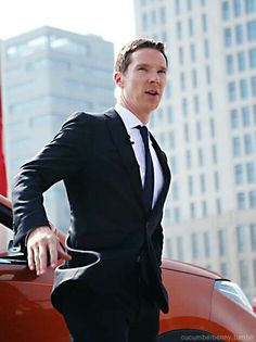 Ben in Shanghai - 11th April 2015 - he could be James Bond with no trouble at all.