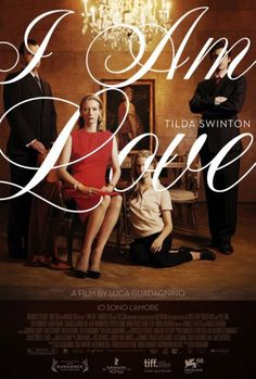 I Am Love. Usually Tilda Swinton looks like a dude because she is so androgynous, but in this Italian movie she was classically gorgeous.