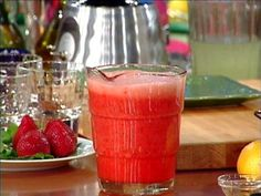 Strawberry Lemonade (Add some flavored vodka or rum to adult it up).