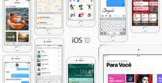 Apple lança iOS 10, a maior atualização do iOS desde sempre!