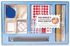 worlds tiniest mail stationery kit - how cute is this?