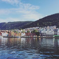 Bergen Norway's Second City and the Gateway to the Fjords. Photo by @etvilleneuve on Instagram.